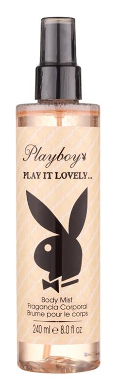 Playboy Play It Lovely tělový sprej pro ženy 240 ml