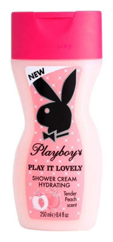 Playboy Play It Lovely Dusch Creme für Damen 250 ml