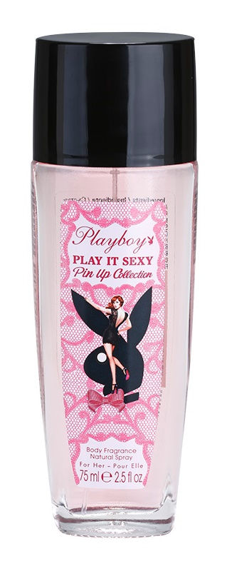 Playboy Play It Sexy Pin Up Perfume Deodorant for Women 75 ml
