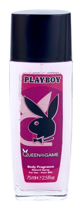 Playboy Queen Of The Game dezodorant z atomizerem dla kobiet 75 ml