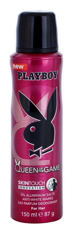 Playboy Queen Of The Game Deo Spray voor Vrouwen  150 ml