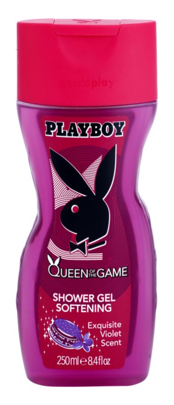 Playboy Queen Of The Game Douchegel voor Vrouwen  250 ml