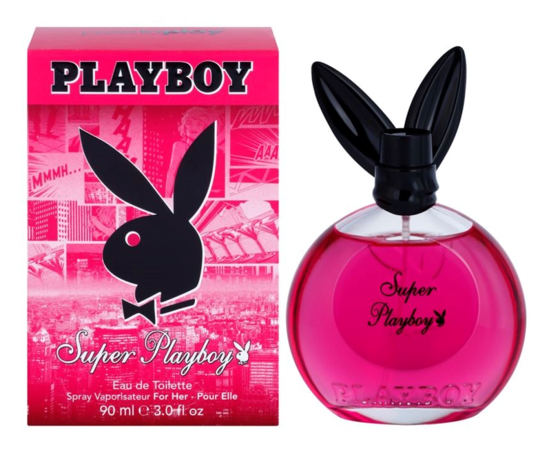 Playboy Super Playboy for Her Eau de Toilette para mulheres 90 ml