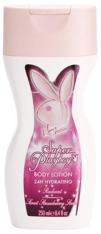 Playboy Super Playboy for Her Körperlotion für Damen 250 ml