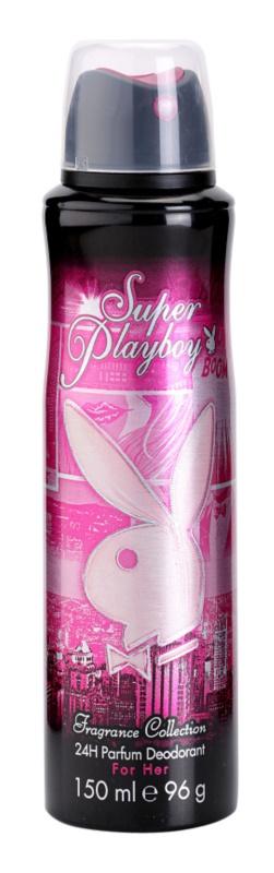 Playboy Super Playboy for Her dezodorant w sprayu dla kobiet 150 ml