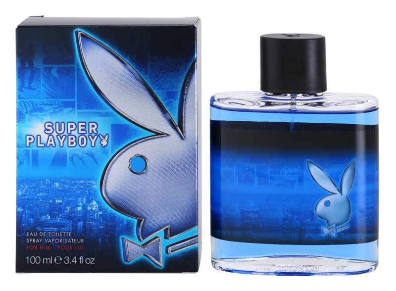 Playboy Super for Him Eau de Toilette for Men 100 ml