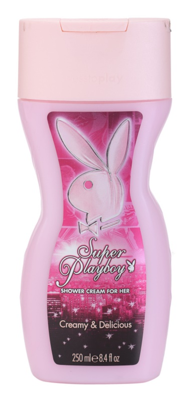 Playboy Super Playboy for Her Shower Gel for Women 250 ml