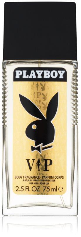 Playboy VIP spray dezodor férfiaknak 75 ml
