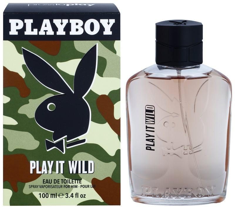 Playboy Play it Wild woda toaletowa dla mężczyzn 100 ml