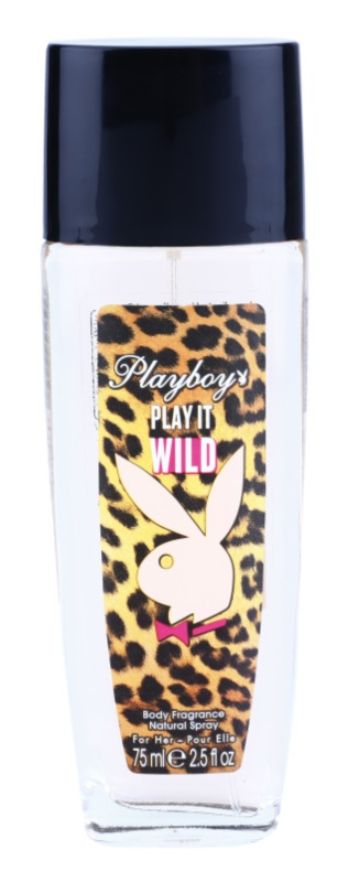 Playboy Play it Wild spray dezodor nőknek 75 ml