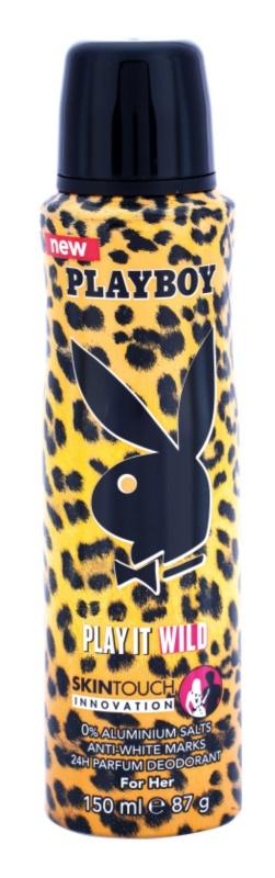 Playboy Play it Wild dezodor nőknek 150 ml