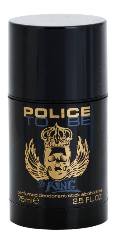 Police To Be The King desodorante en barra para hombre 75 ml