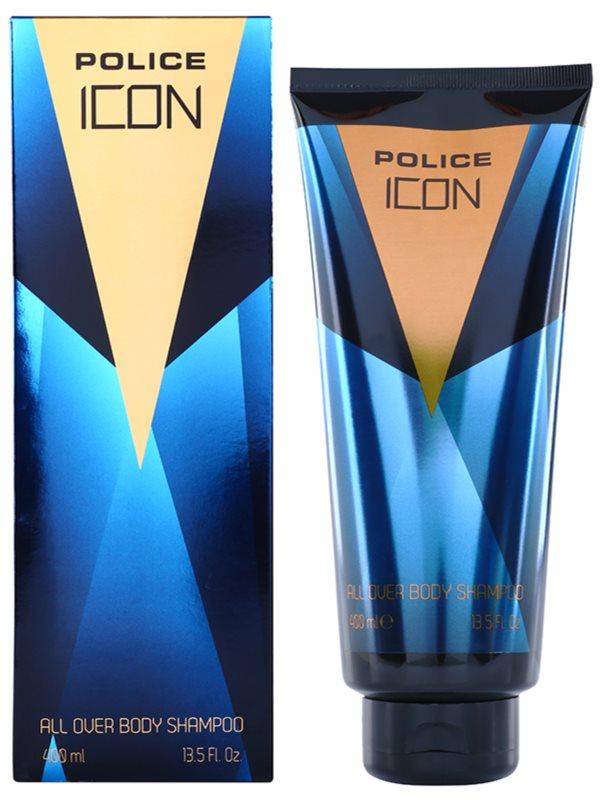 Police Icon żel pod prysznic dla mężczyzn 400 ml