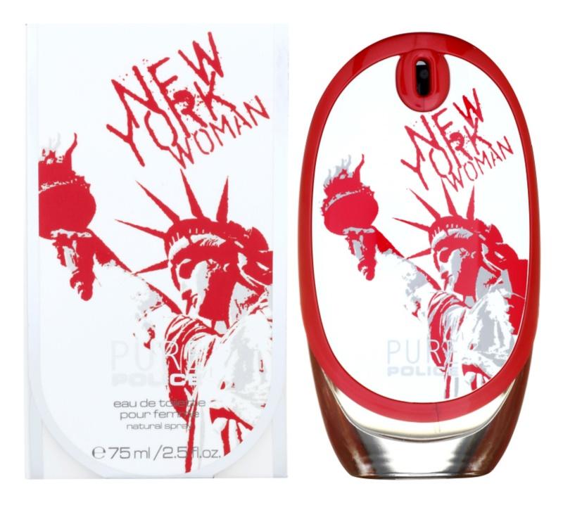 Police Pure New York Woman eau de toilette nőknek 75 ml