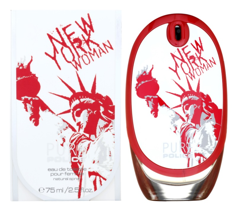 Police Pure New York Woman eau de toilette para mujer 75 ml