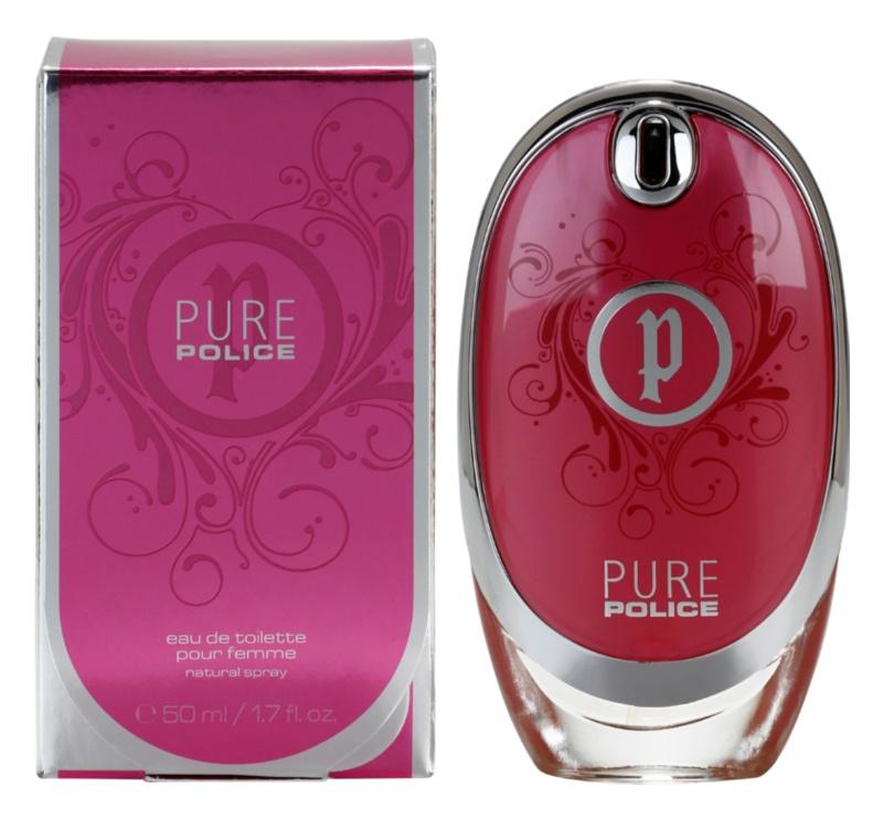 Police Pure Eau de Toilette für Damen 50 ml