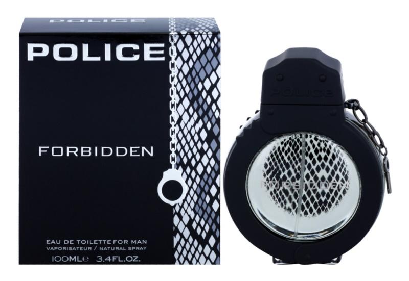 Police Forbidden Eau de Toilette für Herren 100 ml