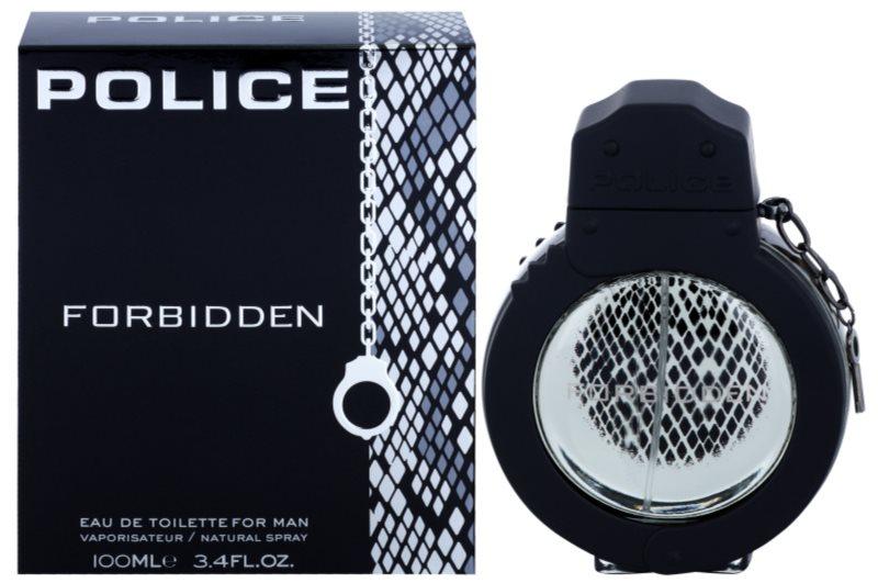 Police Forbidden woda toaletowa dla mężczyzn 100 ml