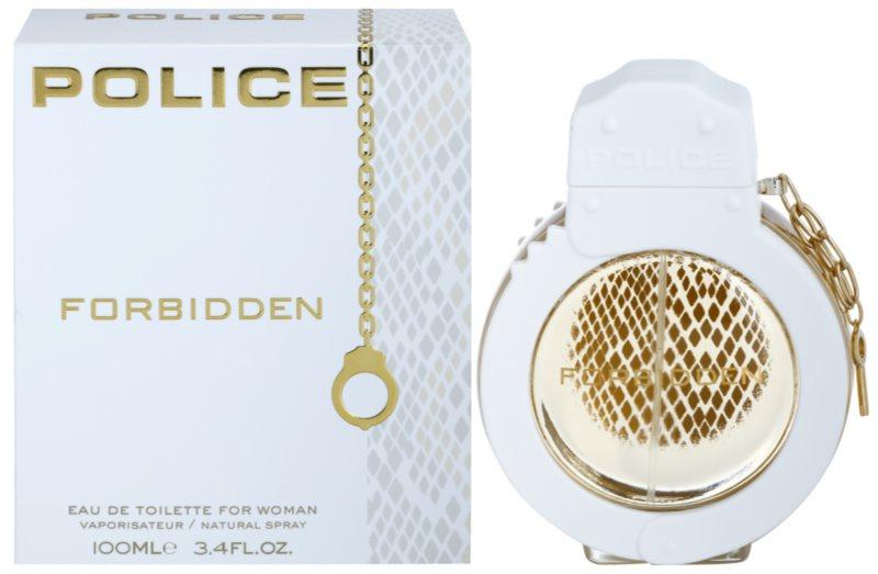 Police Forbidden eau de toilette per donna 100 ml