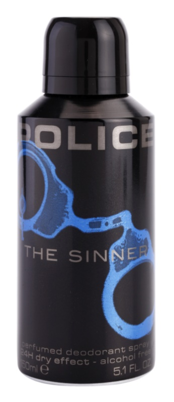 Police The Sinner déo-spray pour homme 150 ml