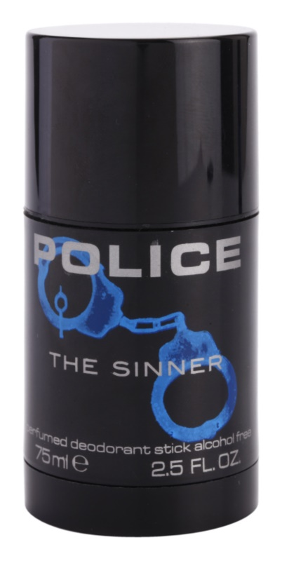 Police The Sinner deodorante stick per uomo 75 ml