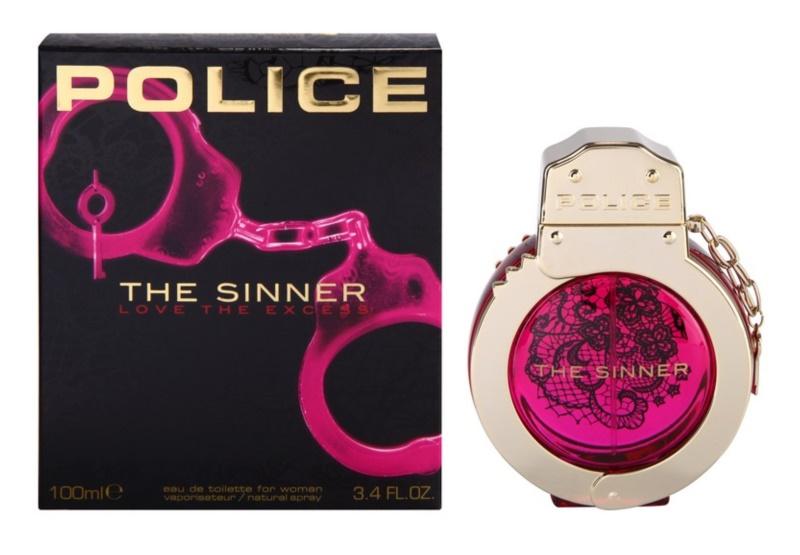 Police The Sinner Eau de Toilette voor Vrouwen  100 ml