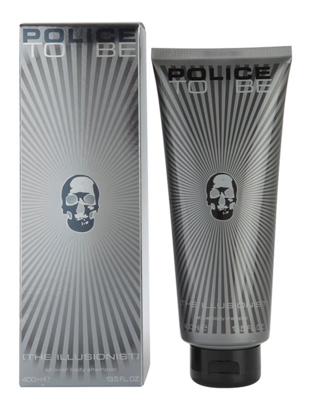 Police To Be The Illusionist gel de duche para homens 400 ml
