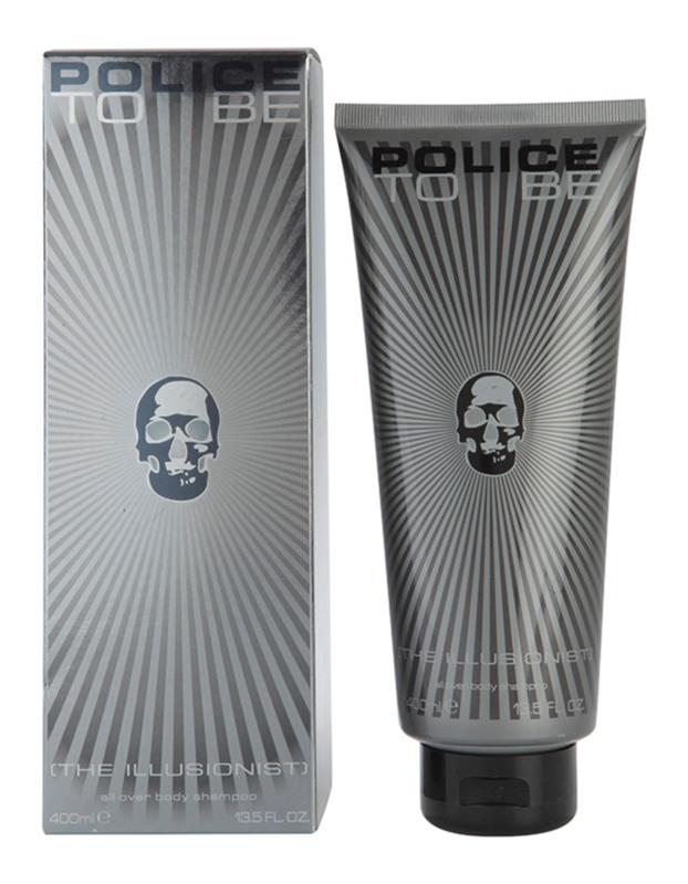 Police To Be The Illusionist gel de dus pentru barbati 400 ml