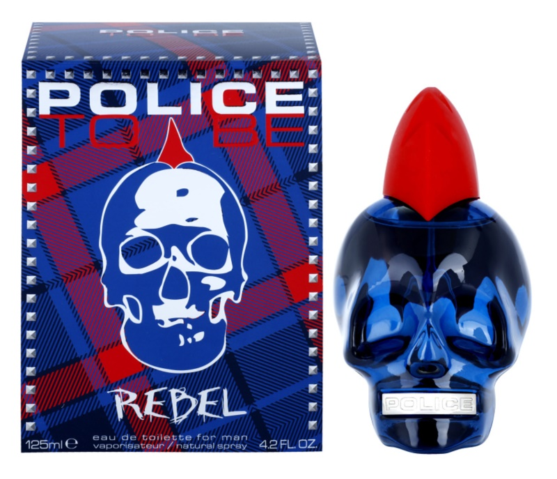 Police To Be Rebel Eau de Toilette for Men 125 ml