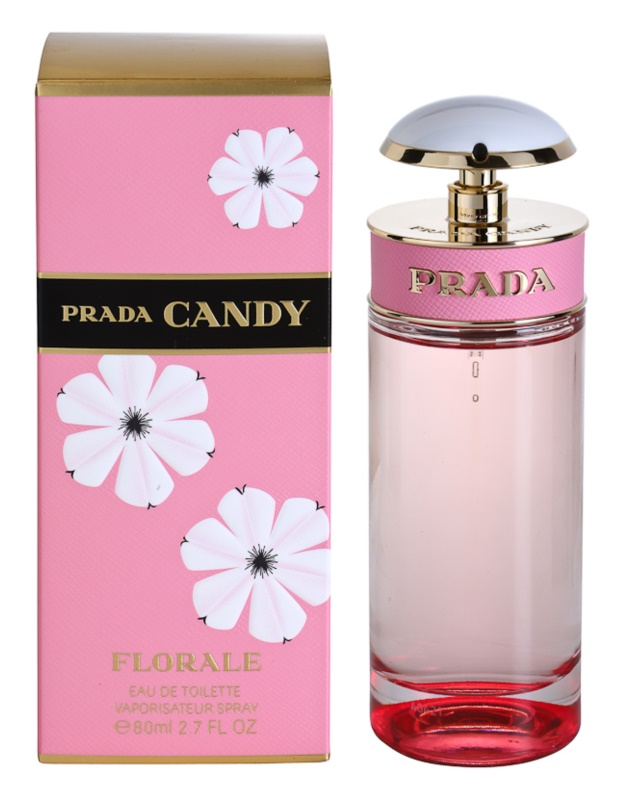 Prada Candy Florale eau de toilette pentru femei 80 ml