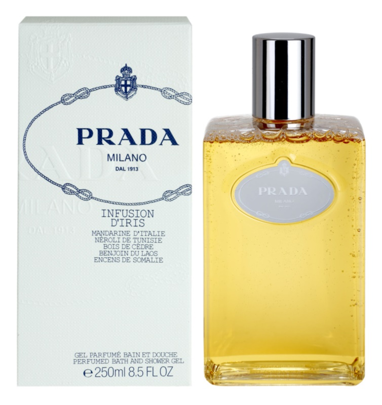 Prada Les Infusions Infusion d'Iris Shower Gel for Women 250 ml