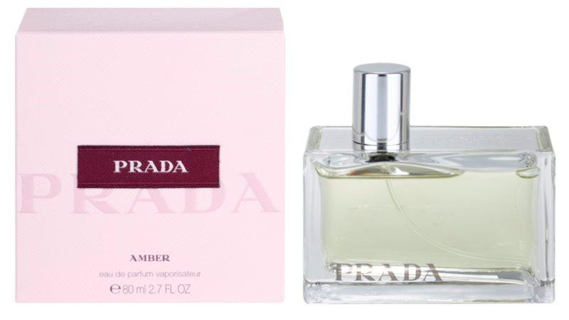 Prada Amber eau de parfum pentru femei 80 ml