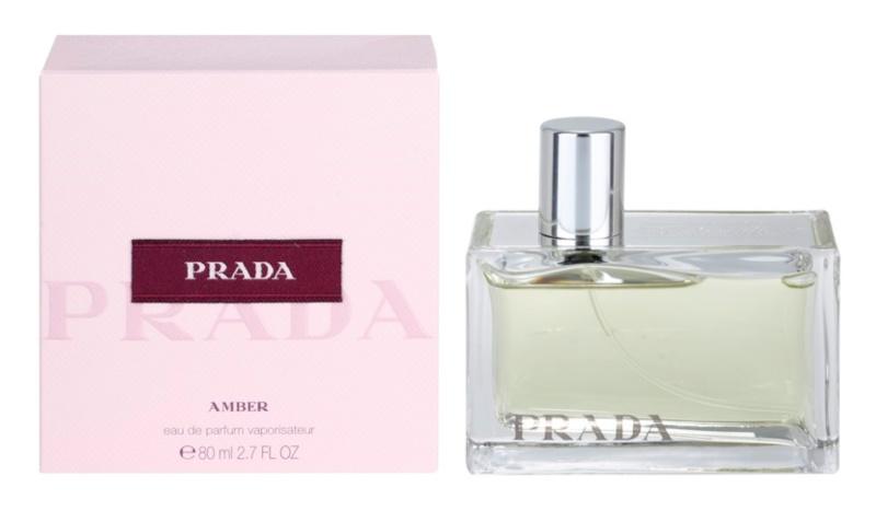 Prada Prada Amber Eau de Parfum para mulheres 80 ml