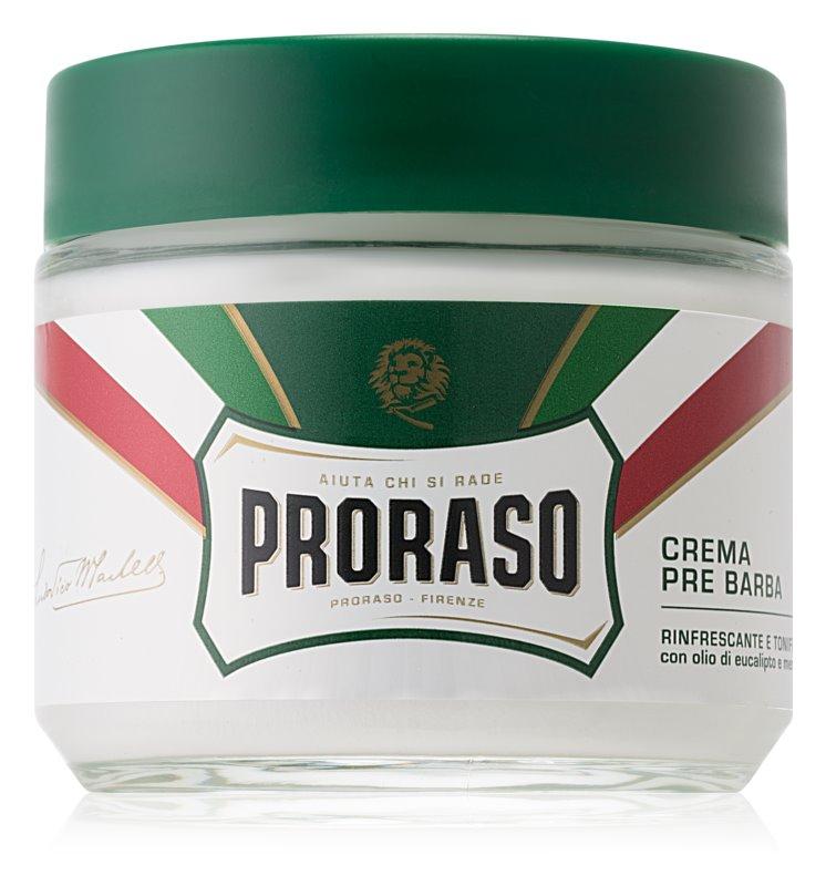 Proraso Green borotválkozás előtti krém