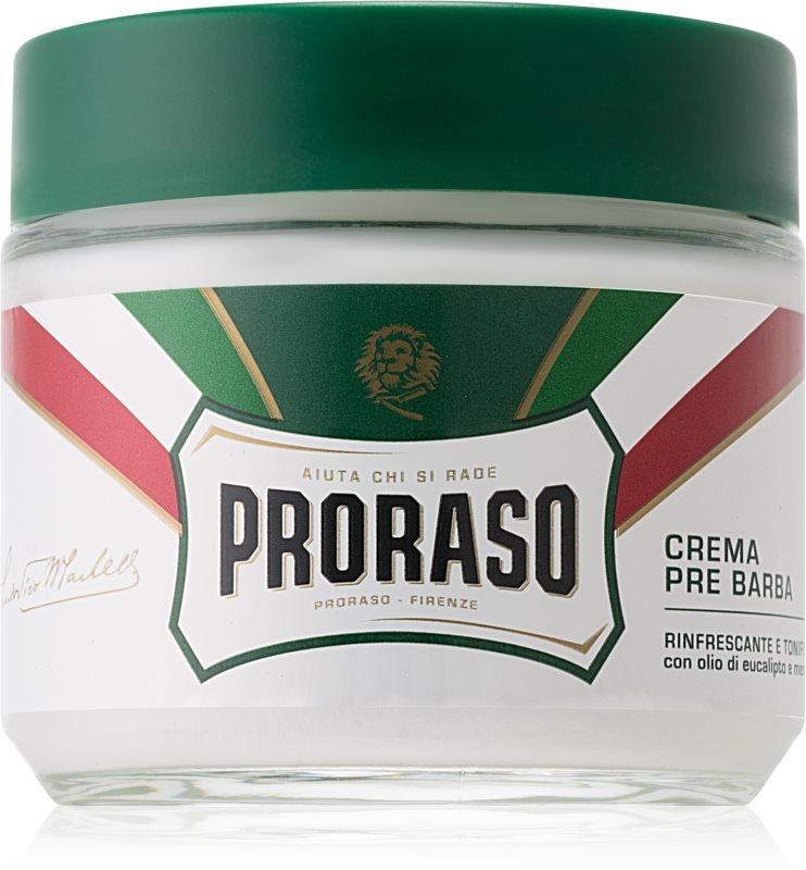 Proraso Green crème avant-rasage