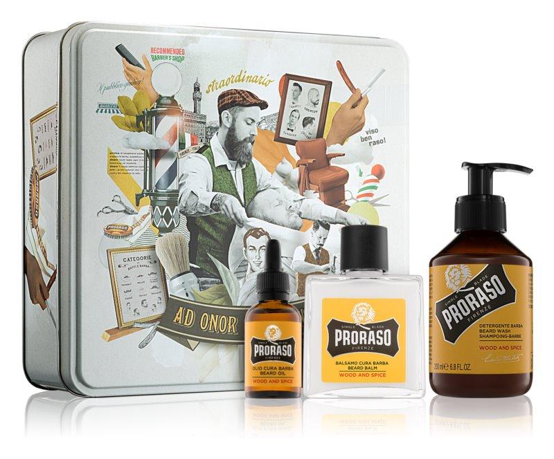 Proraso Wood and Spice kosmetická sada I.