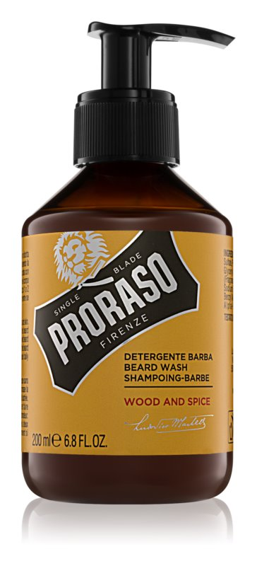 Proraso Wood and Spice šampon na vousy