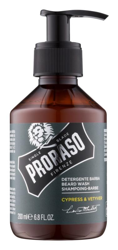 Proraso Cypress & Vetyver šampón na bradu