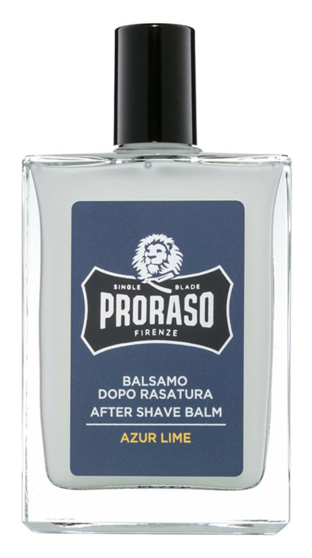 Proraso Azur Lime hydratisierendes After Shave Balsam nährende Textur