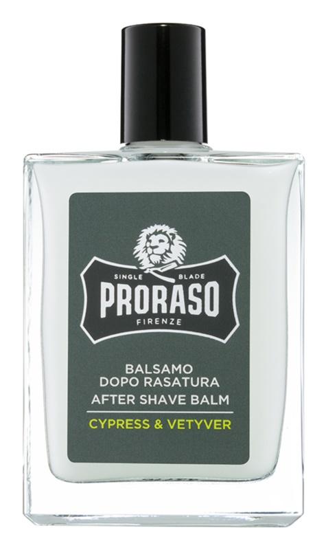 Proraso Cypress & Vetyver bálsamo hidratante after shave textura enriquecida