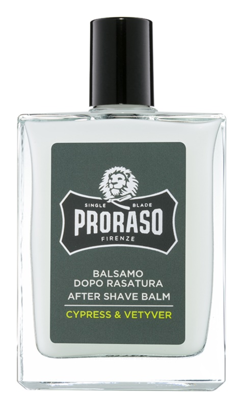 Proraso Cypress & Vetyver nawilżający balsam po goleniu odżywczy krem regenerujący
