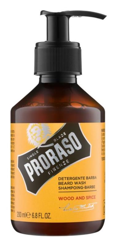 Proraso Wood and Spice šampón na bradu