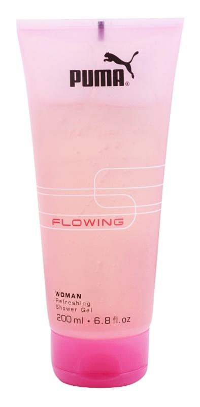 Puma Flowing Woman sprchový gel pro ženy 200 ml