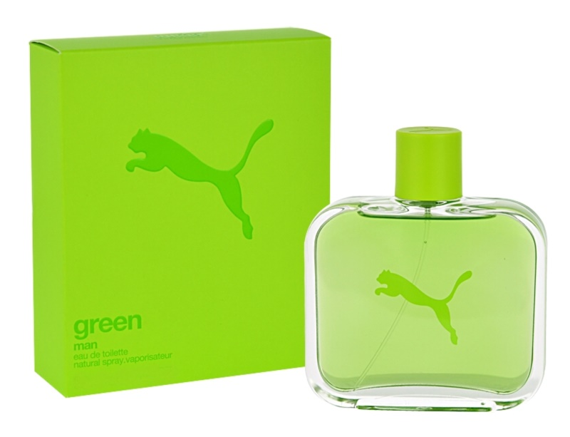 Puma Green Man Eau de Toilette für Herren 40 ml