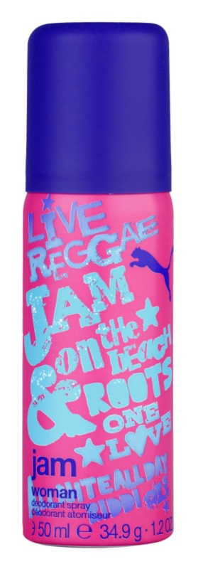 Puma Jam Woman Deo-Spray für Damen 50 ml