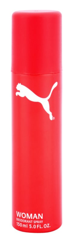 Puma Red and White deospray pro ženy 150 ml
