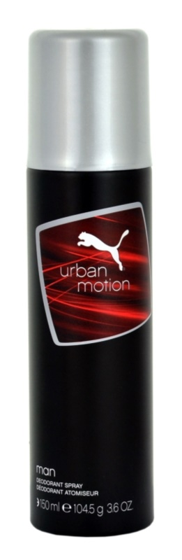 Puma Urban Motion Deo Spray voor Mannen 150 ml