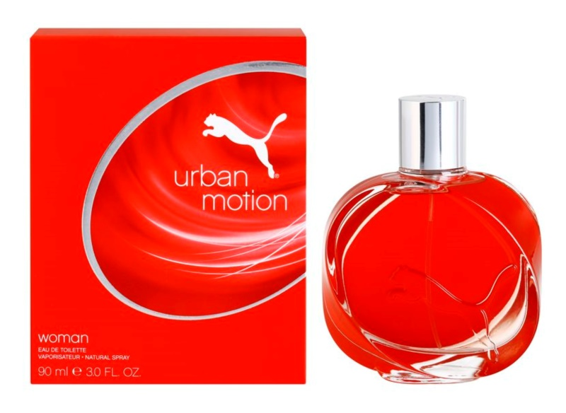 Puma Urban Motion Woman Eau de Toilette for Women 90 ml