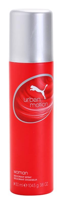 Puma Urban Motion Woman dezodor nőknek 150 ml