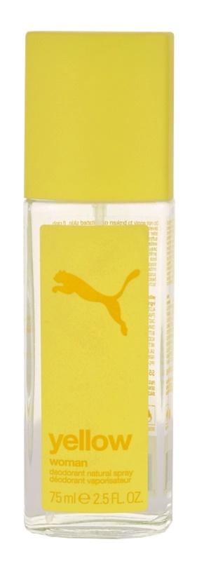 Puma Yellow Woman deodorant s rozprašovačom pre ženy 75 ml